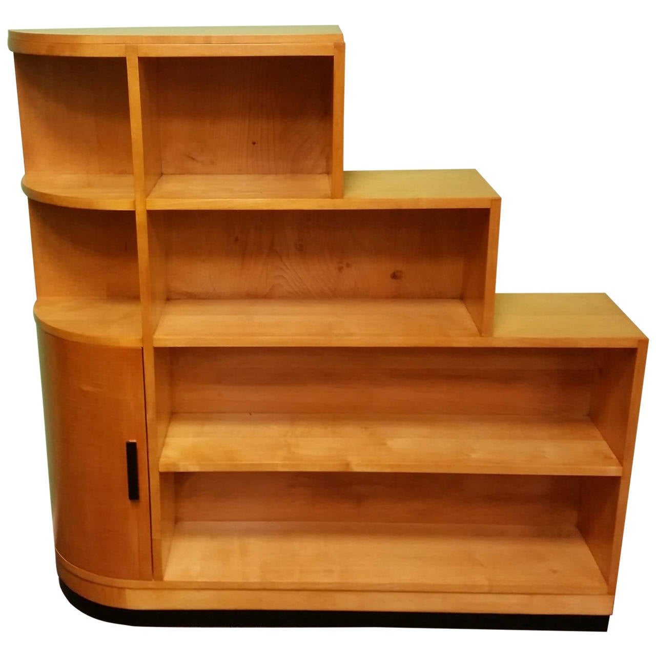 Art deco bookcase at 1stdibs for Art deco furniture