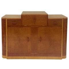 Art Deco Cocktail Sideboard Credenza