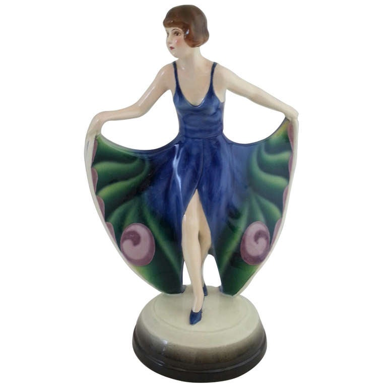 Goldscheider Art Deco Figure