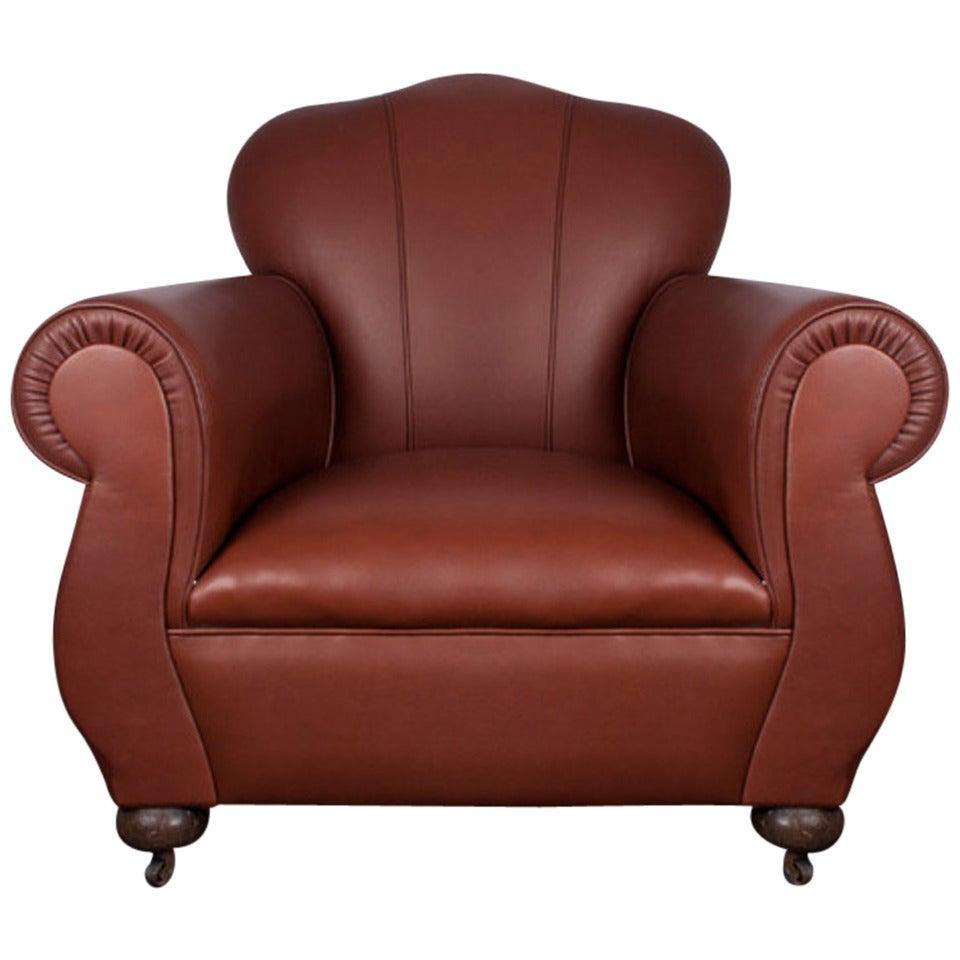 Art Deco Club Chair