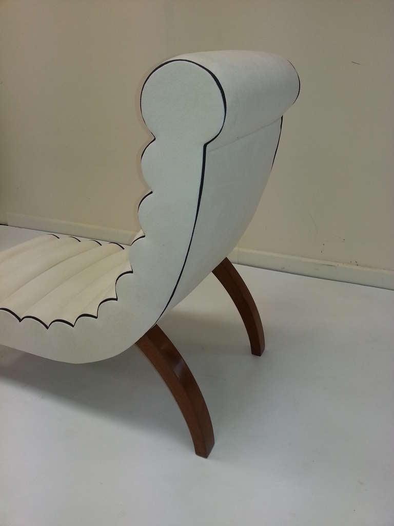 Betty joel art deco chaise longue at 1stdibs for Art nouveau chaise longue