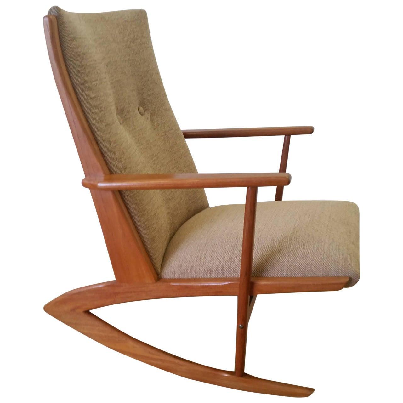 Holgar Georg Jensen Mid-20th Century Design Boomerang Rocking Chair ...