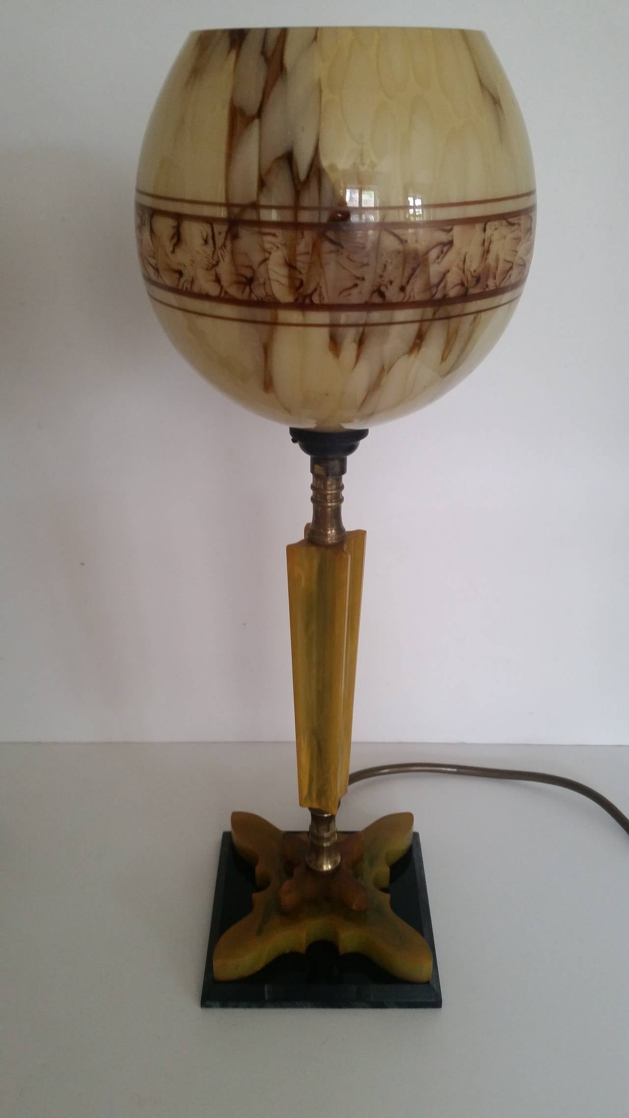 this pair of art deco table lamps is no longer available. Black Bedroom Furniture Sets. Home Design Ideas