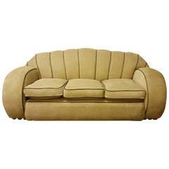 Awesome Art Deco Sofa