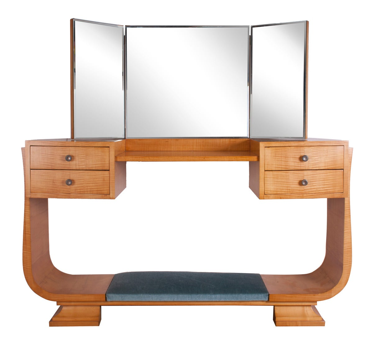 Harry And Lou Epstein Art Deco Dressing Table And Chair At
