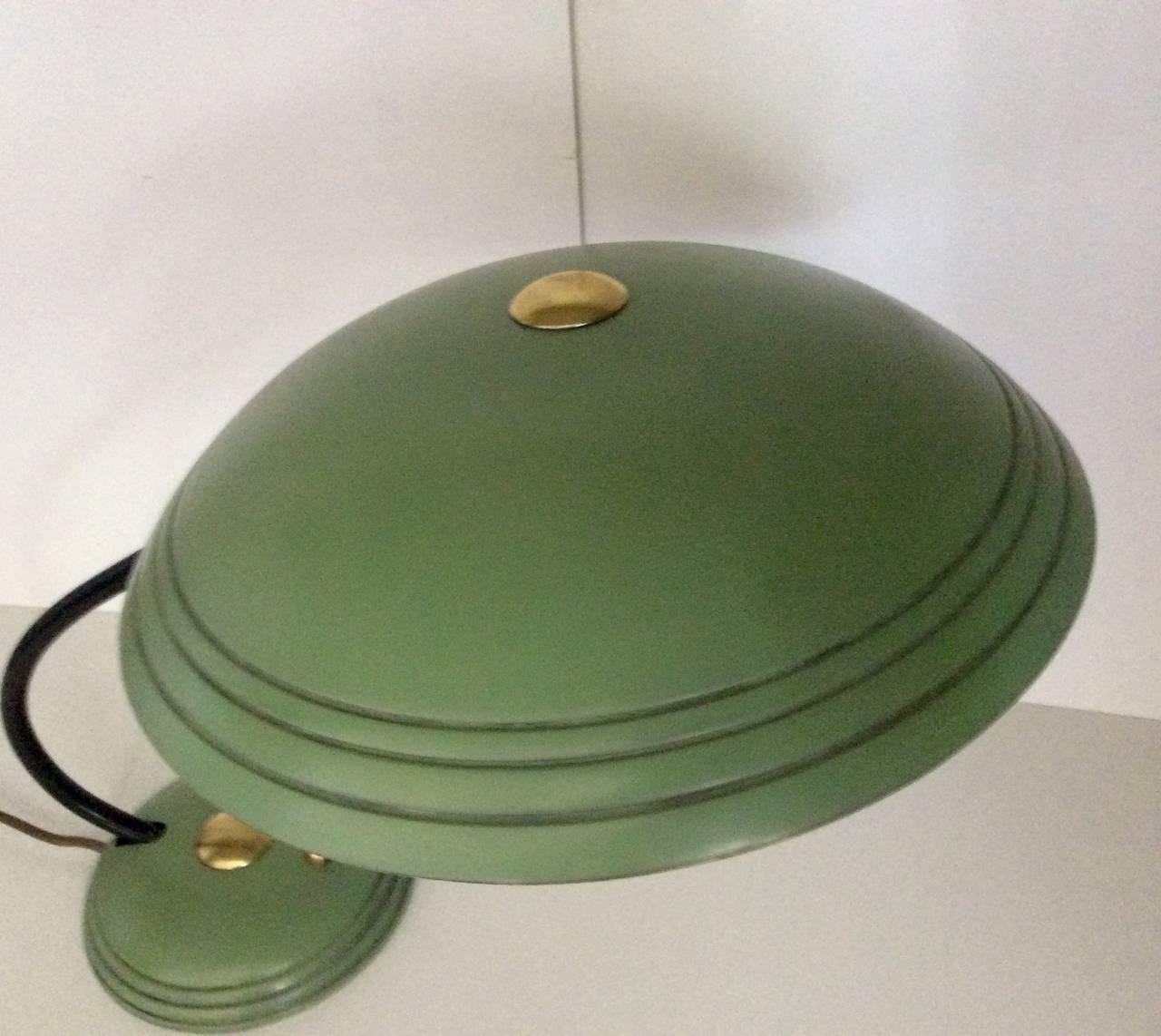Helo flying saucer desk lamp at 1stdibs helo flying saucer desk lamp 2 arubaitofo Images