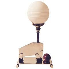 Art Deco Modernist Elephant Table Lamp