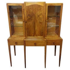 Art Deco Breakfront Bookcase