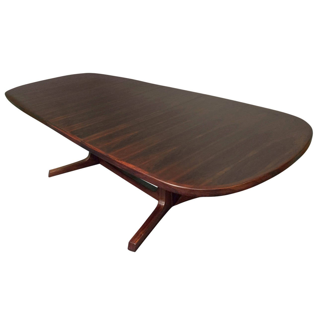 Rosewood Extendable Dining Table By Niels Koefoeds Hornslet
