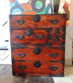 Pair of Tansu Chests