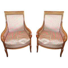 Pair of Restoration Armchairs