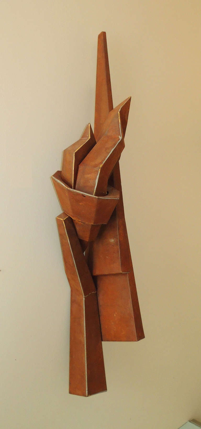 "Sculpture by Lisa Scheer ""Tian'namen #3"" In Excellent Condition For Sale In Washington, DC"