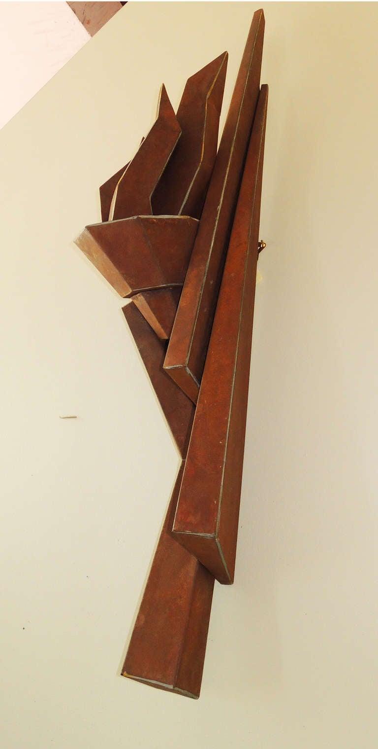Steel Sculpture by Lisa Scheer