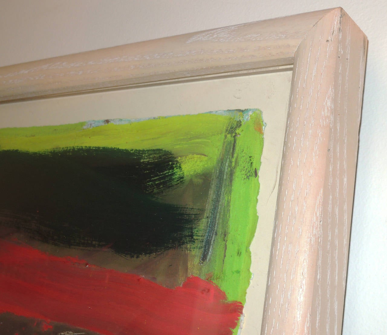 Pair of Abstract Landscapes by Jennifer Wynn In Excellent Condition For Sale In Washington, DC
