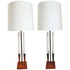 Mid Century Ceramic Table Lamp At 1stdibs