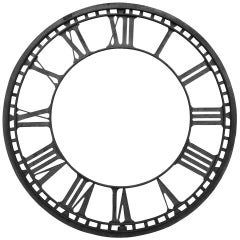 19th Century Church Clock Face