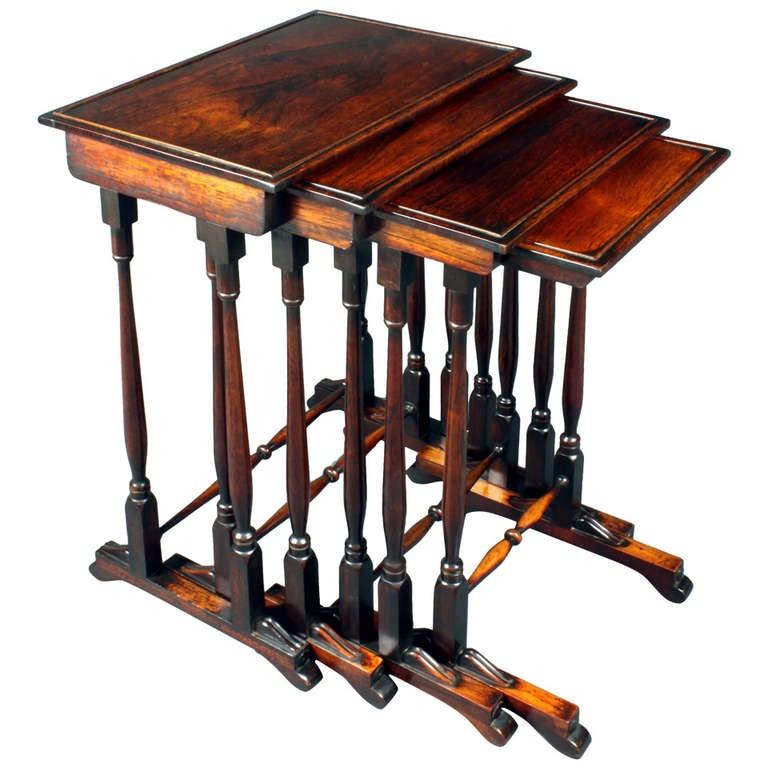 Nest of quartetto tables