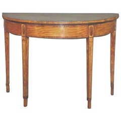 Georgian Satinwood Pier Table