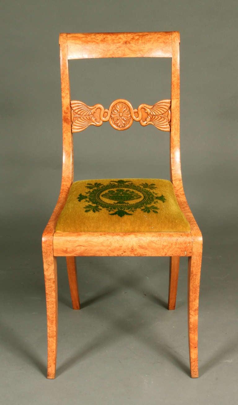 Antique Biedermeier Chairs At 1stdibs