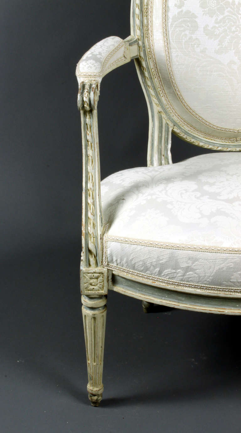 19th Century Four French Chairs For Sale