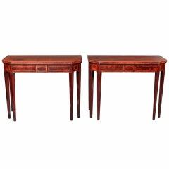Antique Pair of Tea Tables