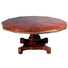 Large Mahogany Table, Seats 12