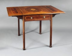 George III Chippendale Period Pembroke Table
