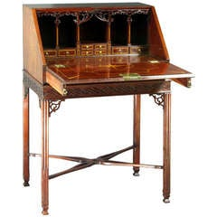 Chippendale Bureau on Legs