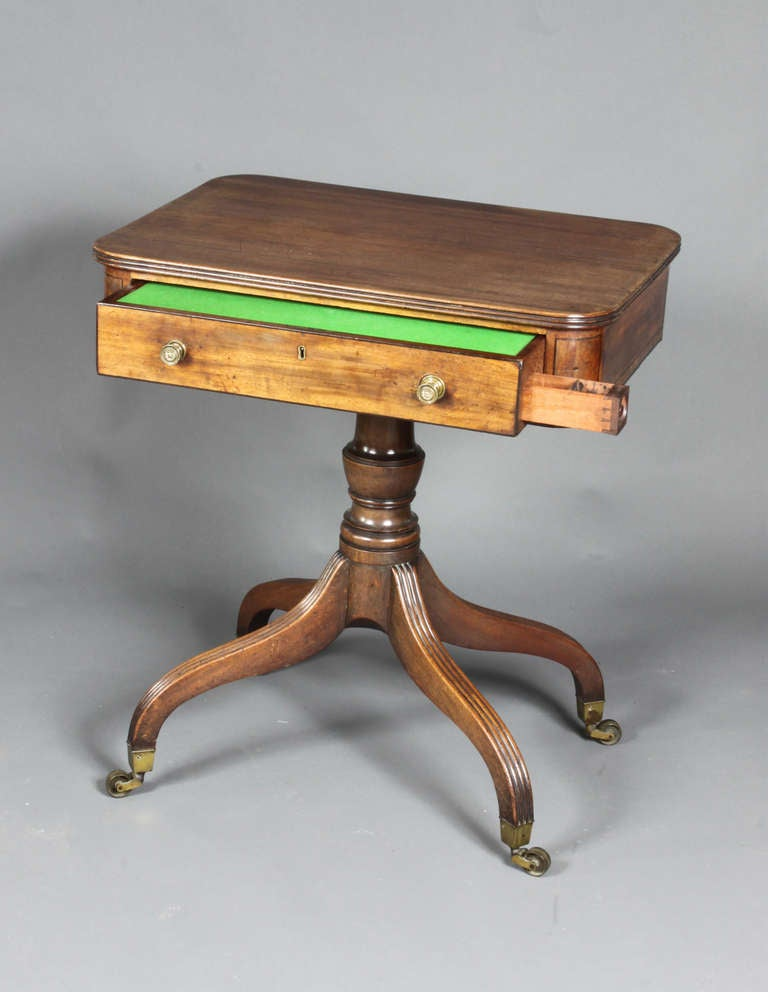 Regency Antique Writing or Occasional Table For Sale