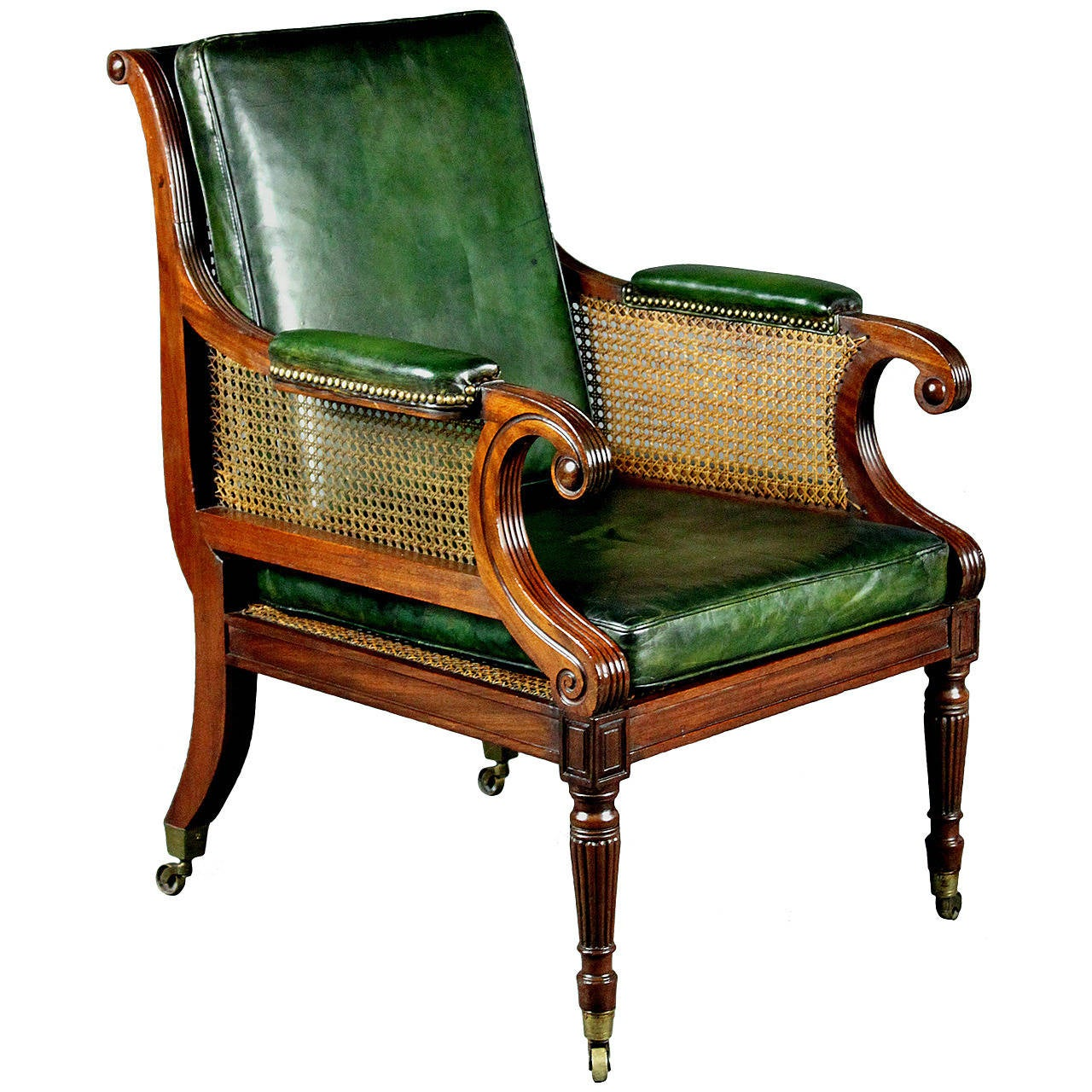 Regency bergere chair at 1stdibs for Furniture chairs