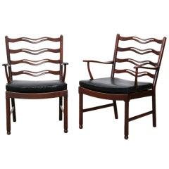 Ein Paar Ole Wanscher Sessel