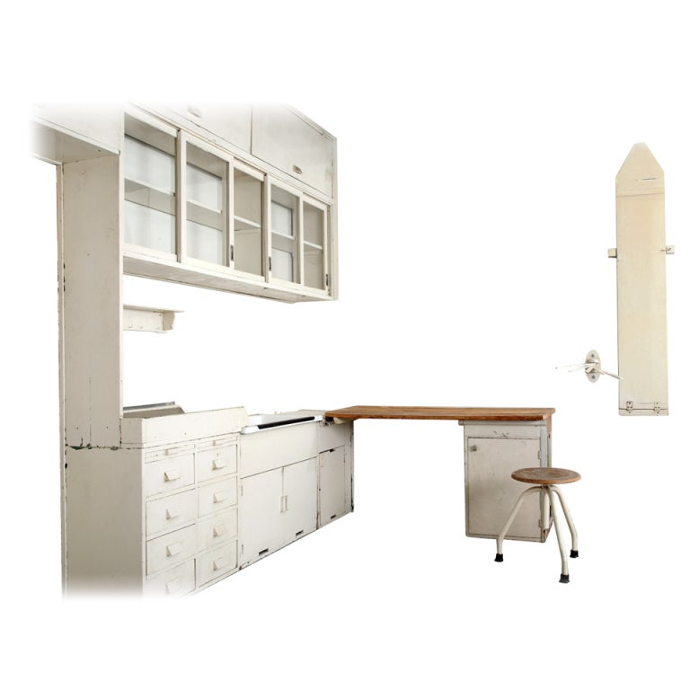 rare margarete sch tte lihotzky frankfurt kitchen frankfurter k che for sale at 1stdibs. Black Bedroom Furniture Sets. Home Design Ideas