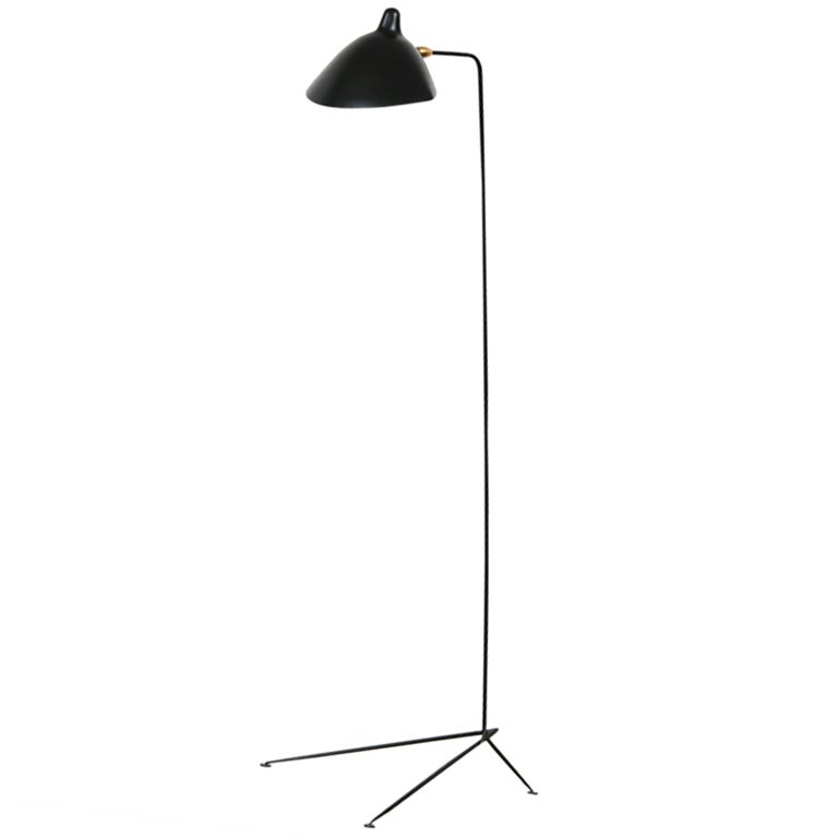 serge mouille floor lamp at 1stdibs. Black Bedroom Furniture Sets. Home Design Ideas