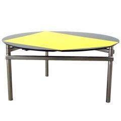 Getulio Alviani 1/2/3/4/5 Table, Drop-Leaf Table