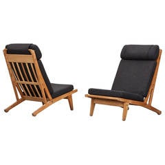 Set of Hans Wegner Lounge Chairs