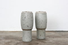 Two Martin Schlotz Ceramic Vase