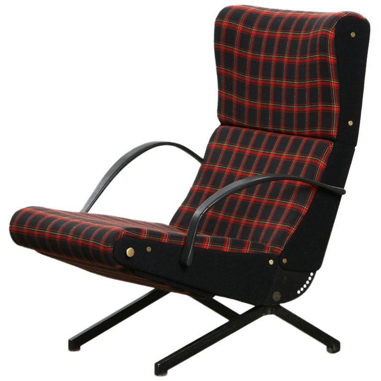 Osvaldo Borsani Armchair, New Upholstery