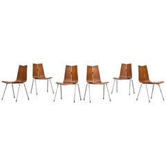 Set of Six Hans Bellmann Chairs
