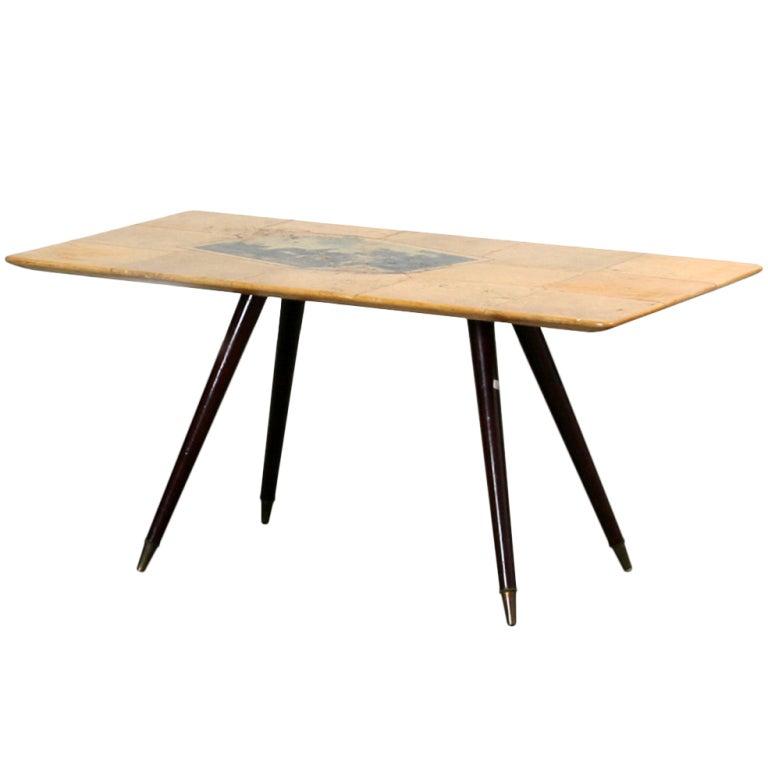 Aldo Tura Side Table