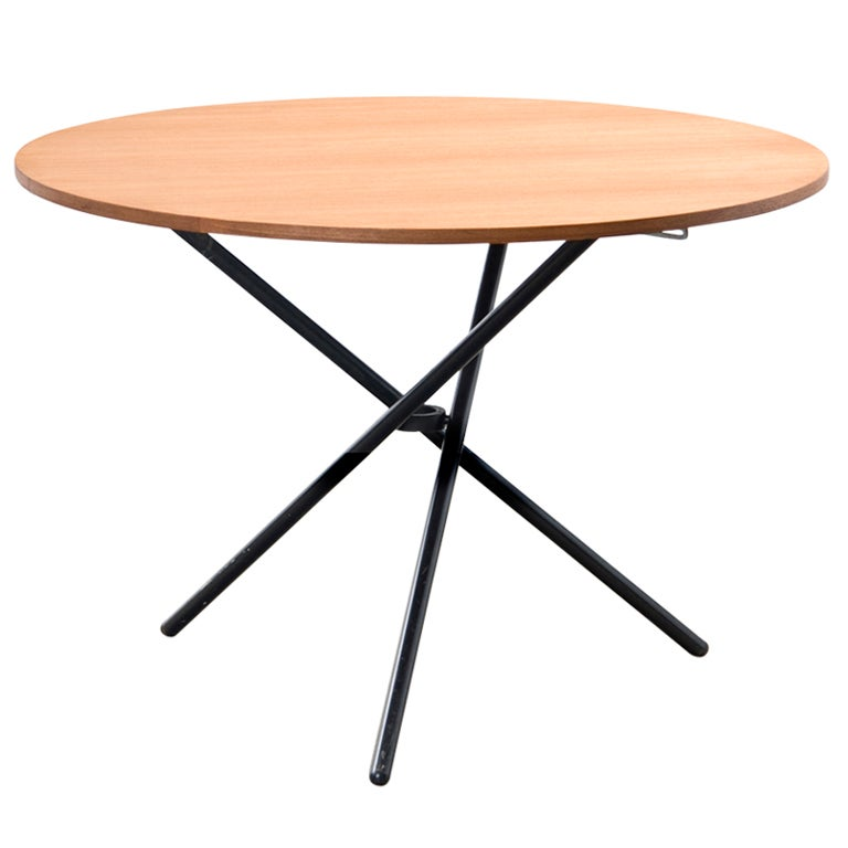 Juerg bally height adjustable table at 1stdibs for Height of cocktail tables