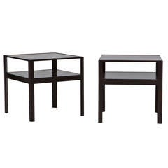 Pair of Edward Wormley Side Tables