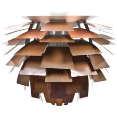Poul Henningsen Copper Ceiling Lamp