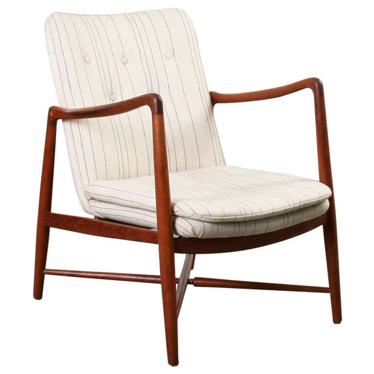 Finn Juhl Lounge Chair At 1stdibs