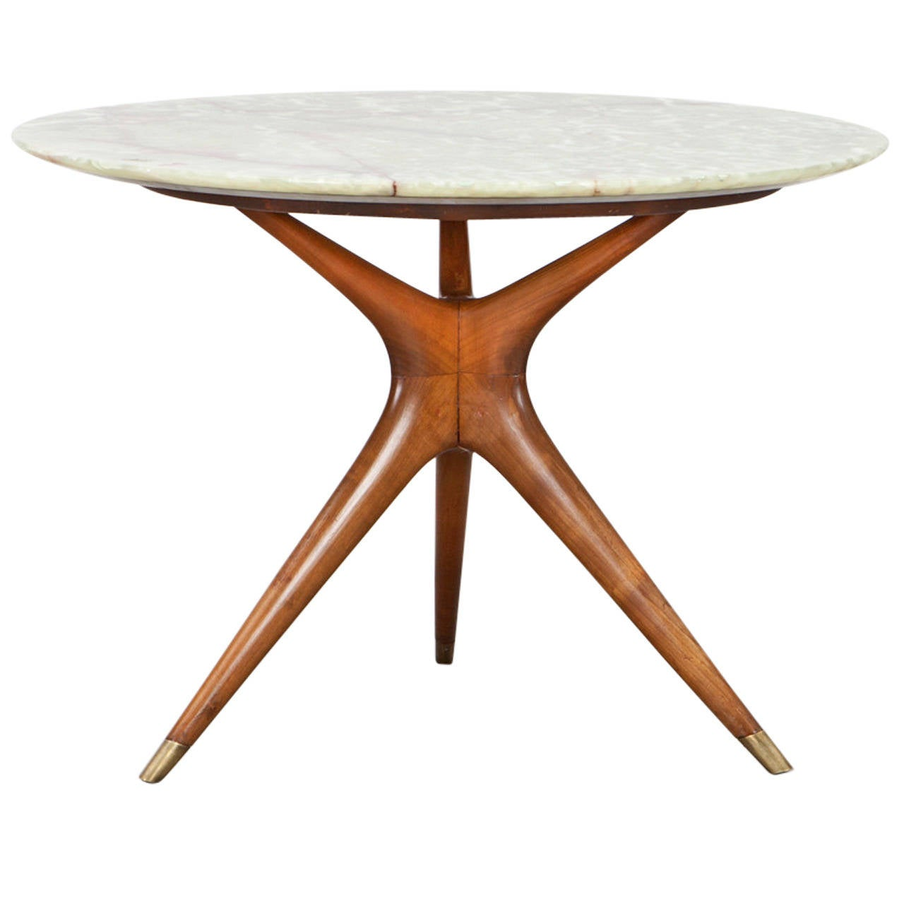 Perfect Ico Parisi Round Marble Top Table 1