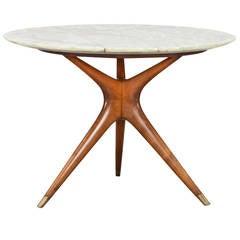 Ico Parisi Round Marble-Top Table