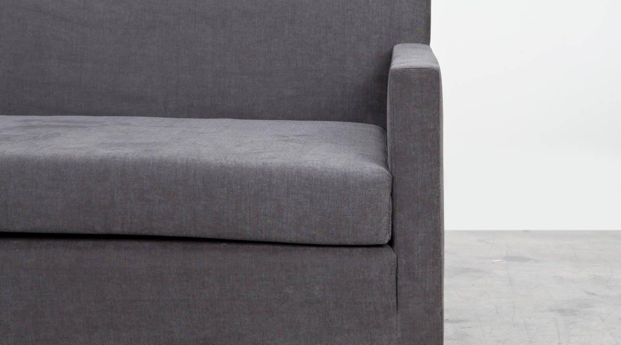 German Ferdinand Kramer Sofa, New Upholstery For Sale