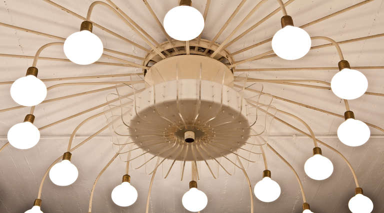 German Large Ceiling Lamp For Sale