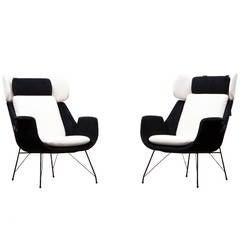 Augusto Bozzi Lounge Chairs