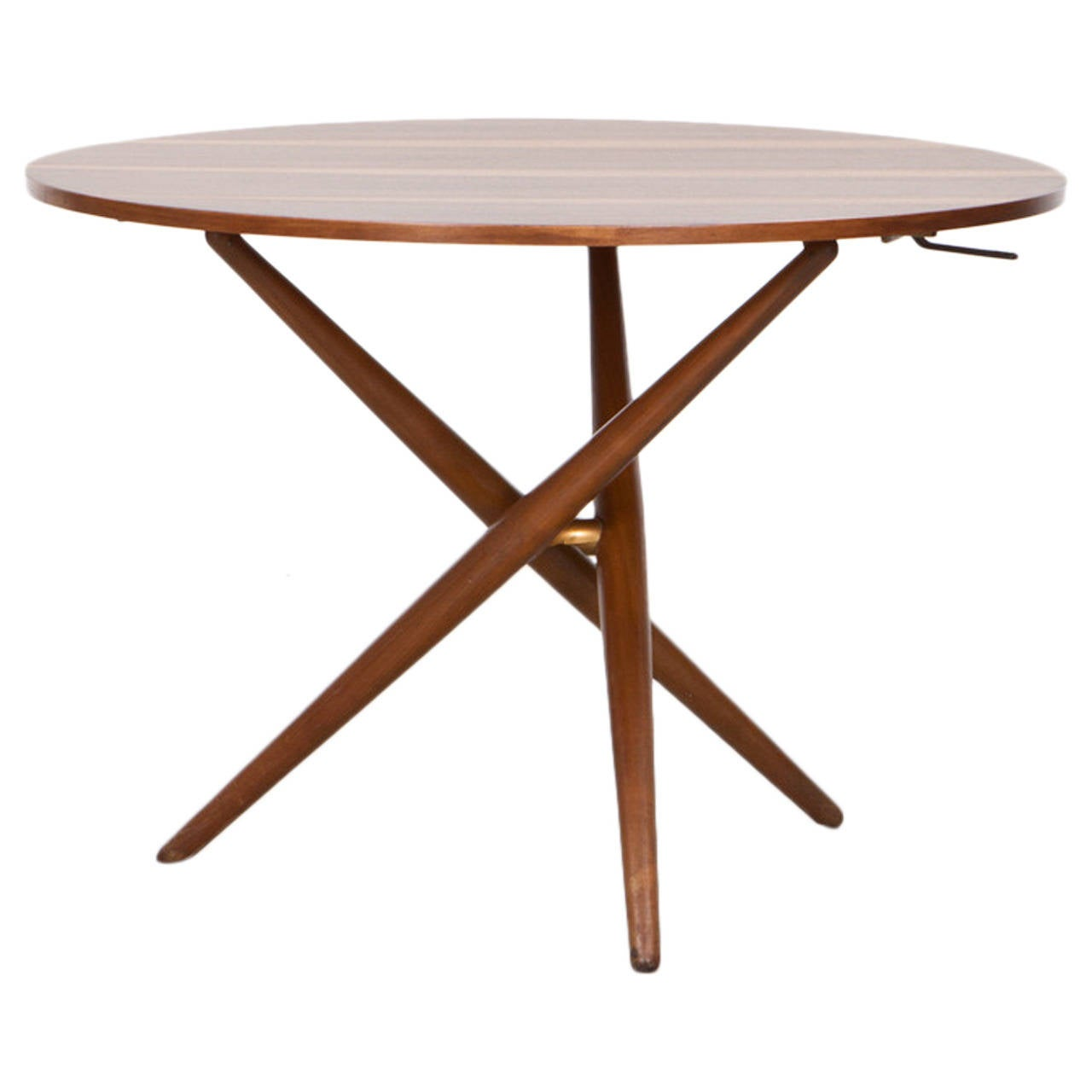 J rg bally eat and tea table d at 1stdibs for Coffee tables you can eat on