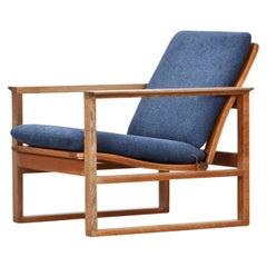 Børge Mogensen Lounge Chair, New Upholstery